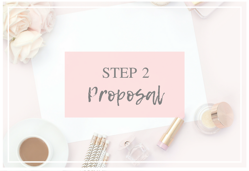 bridal hair accessories proposal