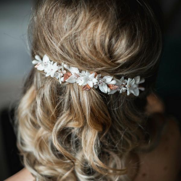 Floral Bridal Hair Piece Bedfordshire